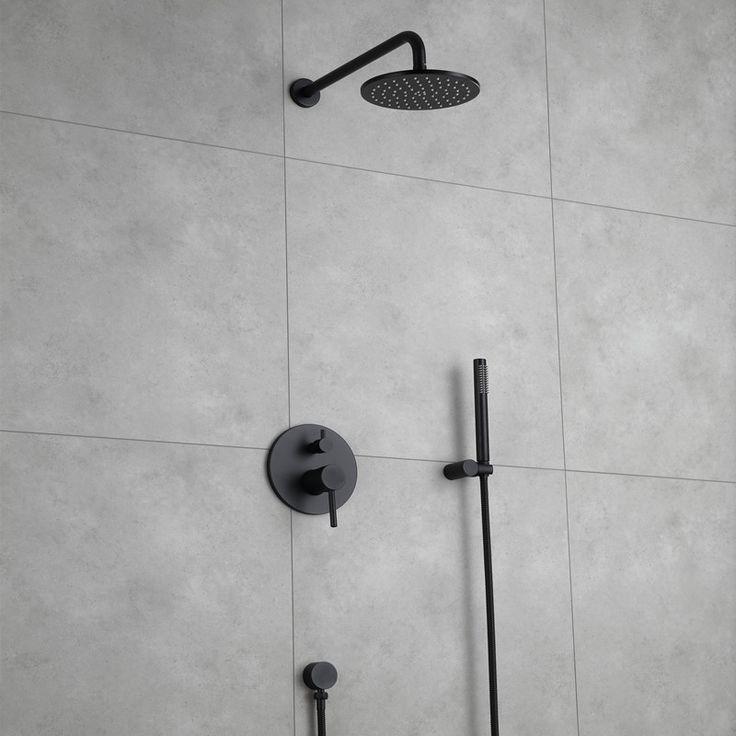 Wasserhahn Badezimmer Schwarz