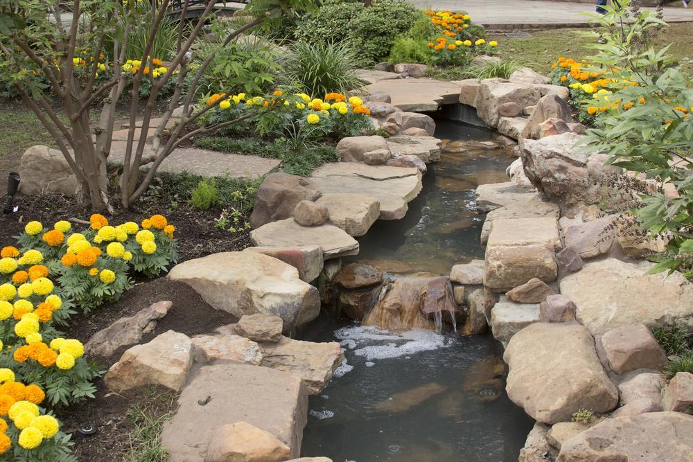 Wasserlauf Garten Bachlauf Anlegen