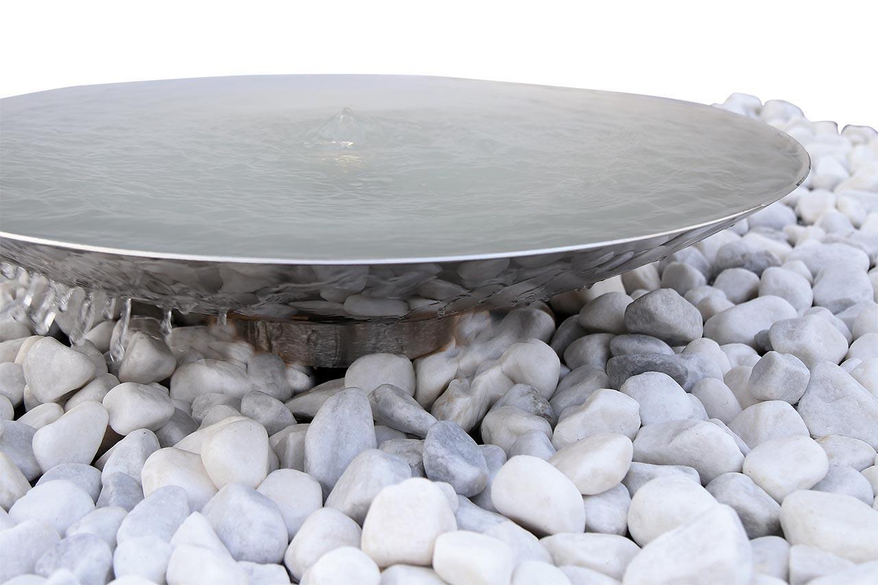 Wasserschale Garten Stein