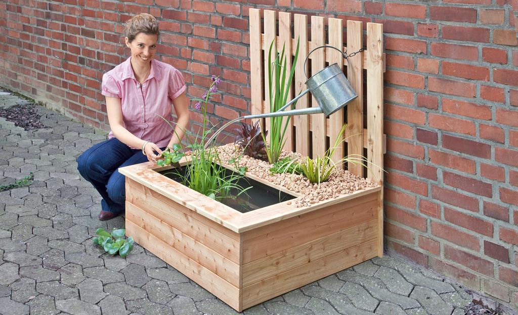 Wasserspiel Garten Selber Bauen