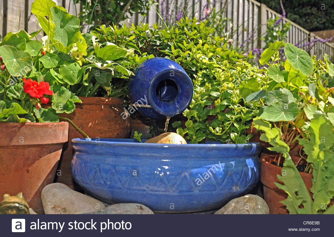 Wasserspiel Garten Solar