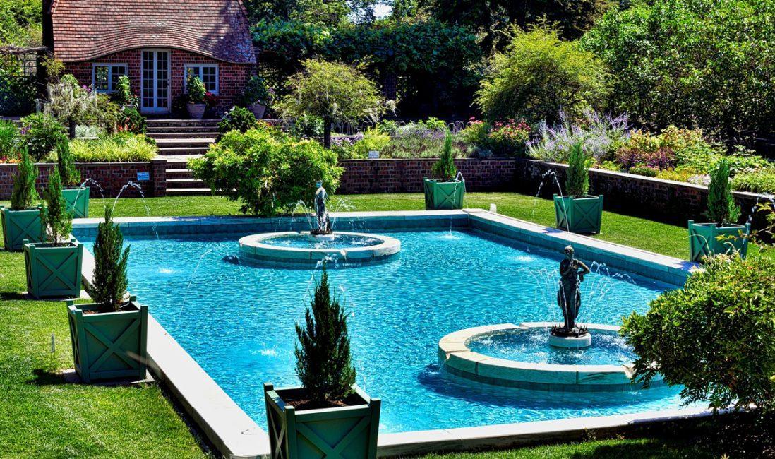 Wasserspiele Im Garten Gestalten