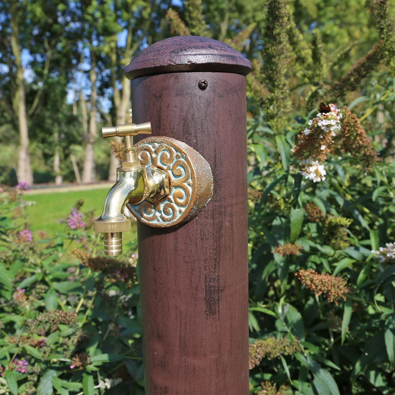 Wasserzapfstelle Garten Wand