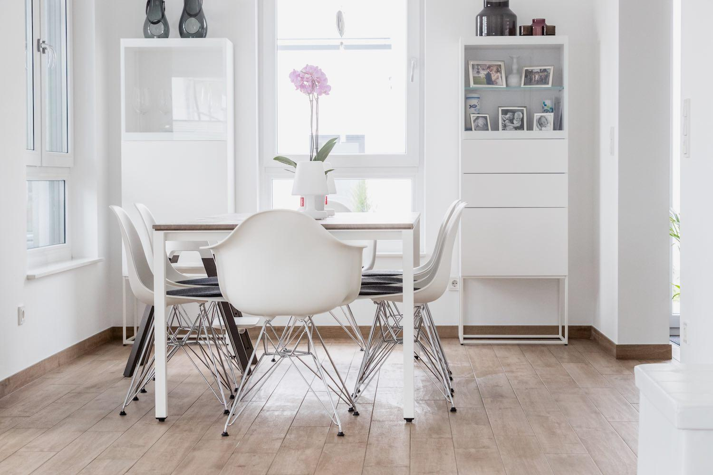 Weiß Esstisch Mit Stühlen Modern