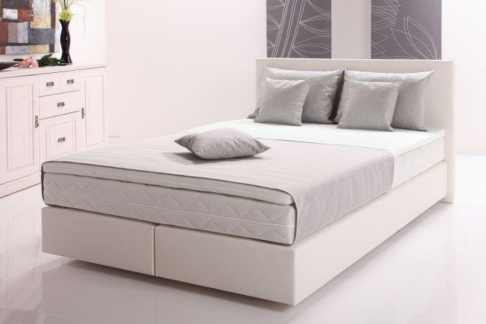 Weiß Graues Schlafzimmer