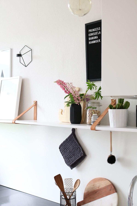 Weiß Ikea Wandregal Küche