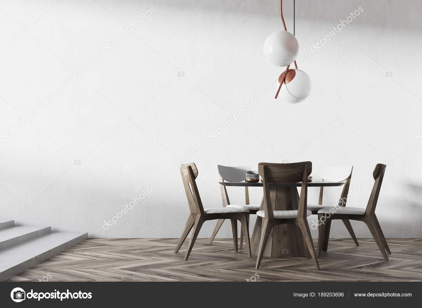 Weißer Holztisch Esszimmer
