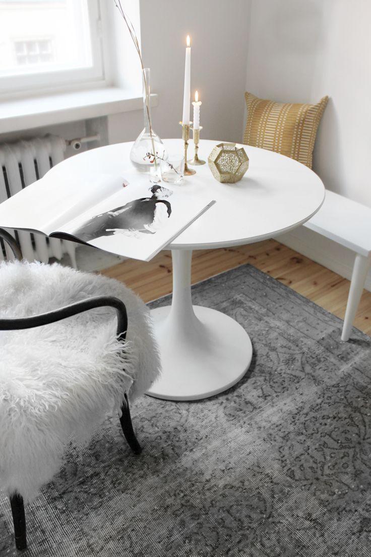 Weißer Runder Couchtisch Ikea