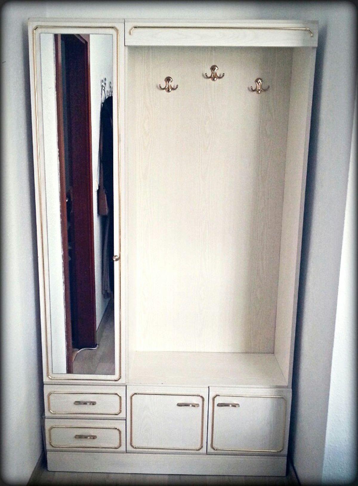 Weißer Schrank Mit Spiegel