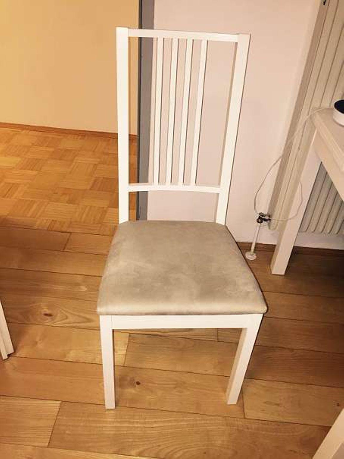 Weißer Stuhl Ikea