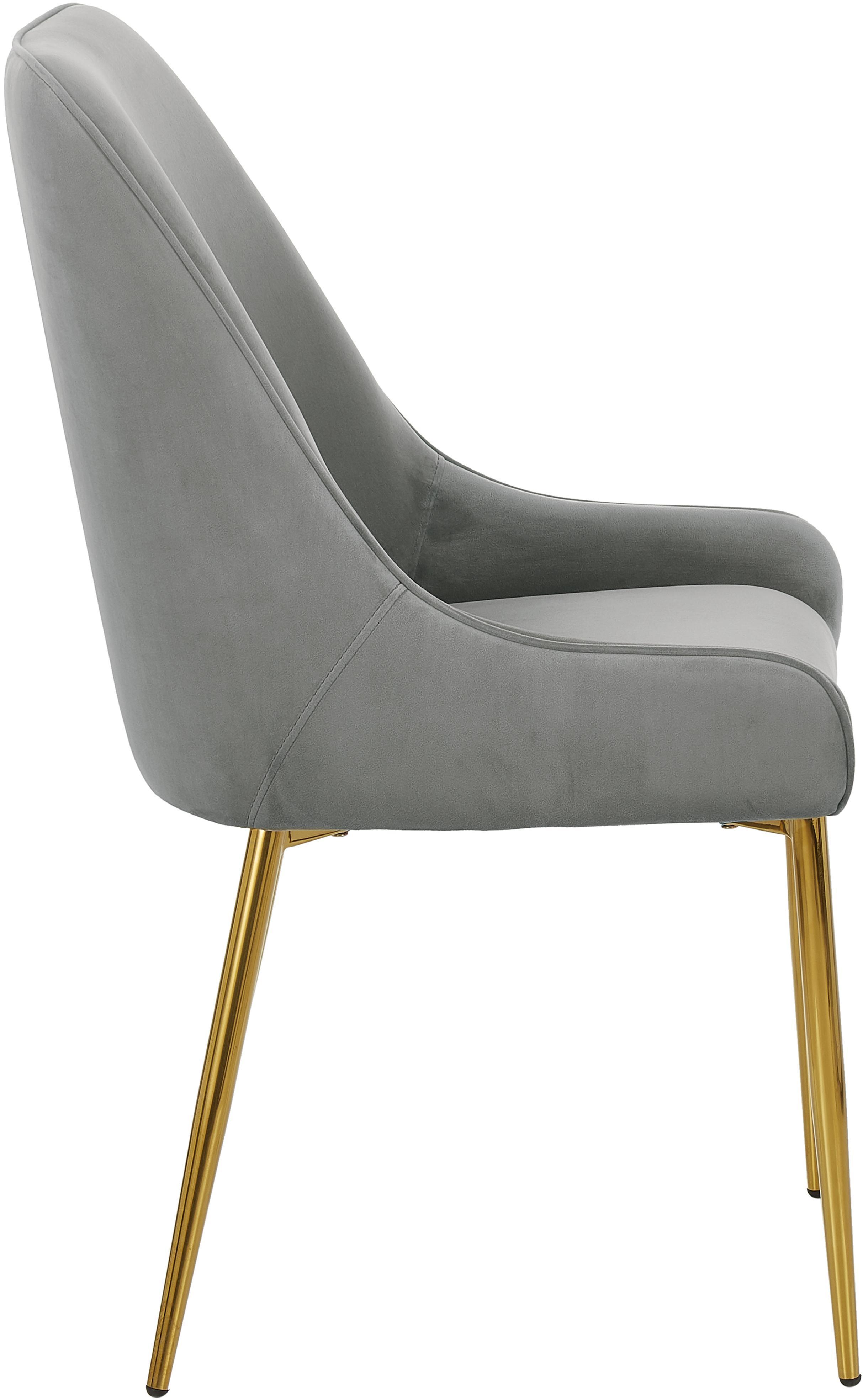 Weißer Stuhl Mit Goldenen Beinen