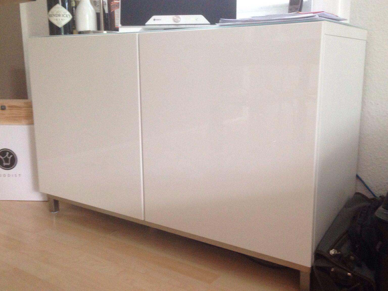 Weißes Sideboard Ikea