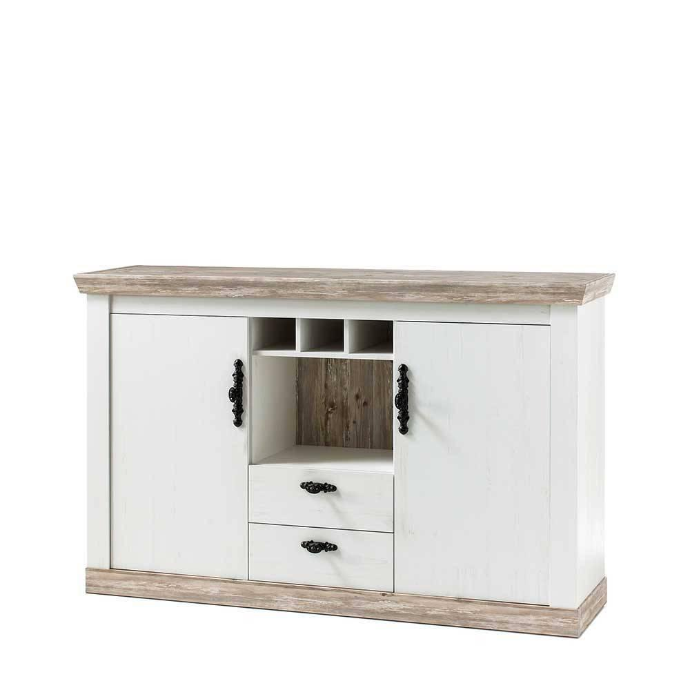 Weißes Sideboard Landhausstil