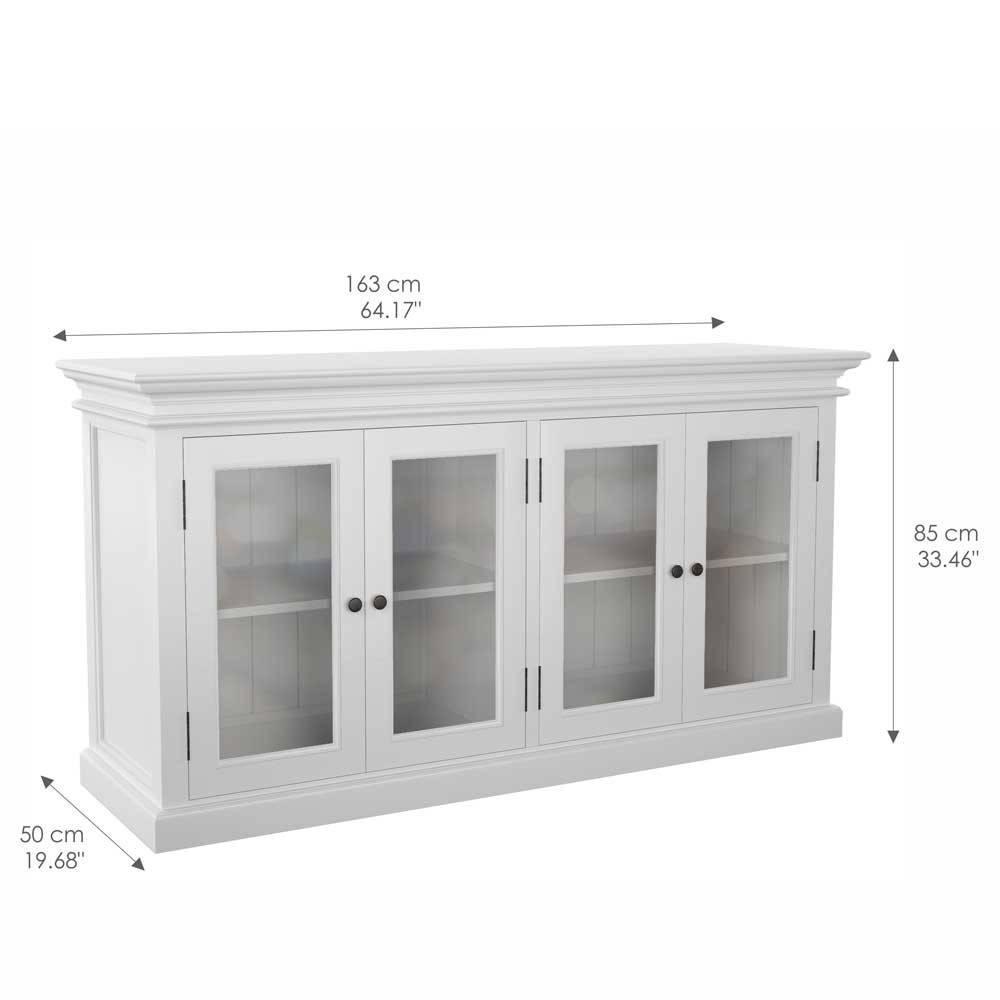 Weißes Sideboard Mit Holz