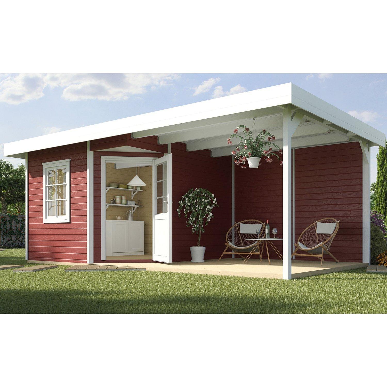 Weka Gartenhaus Mit Anbau