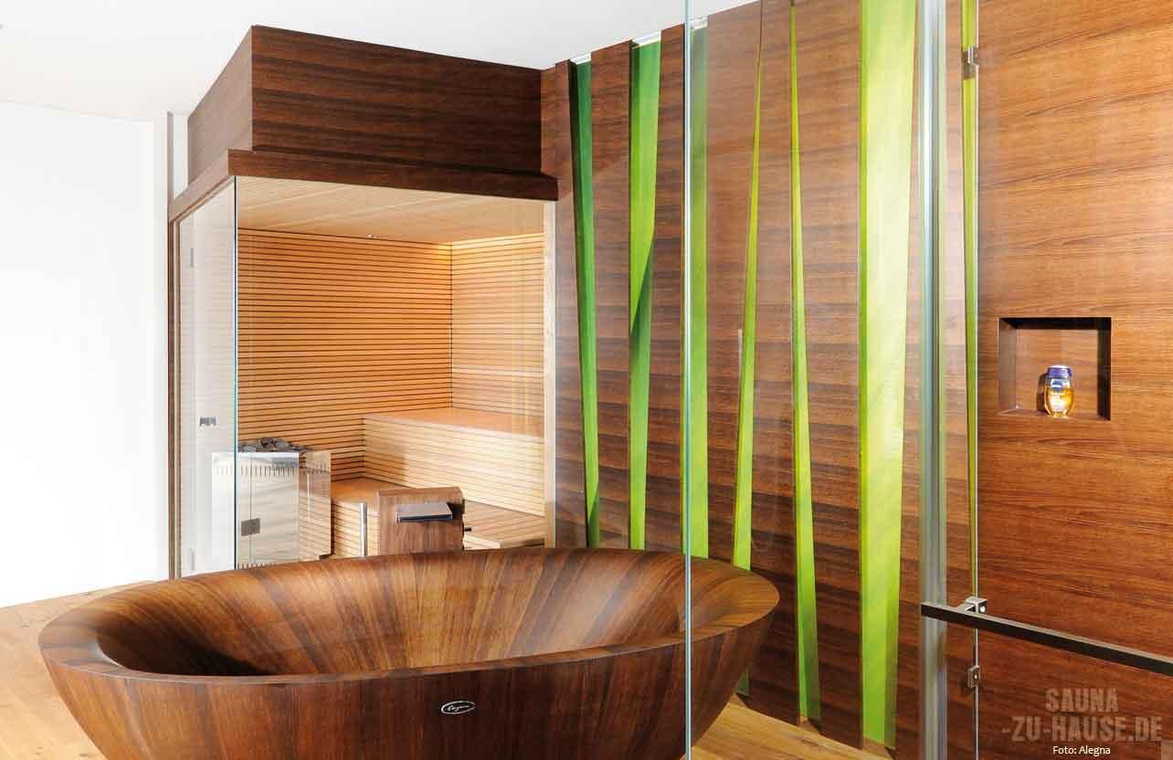 Wellness Badezimmer Mit Sauna