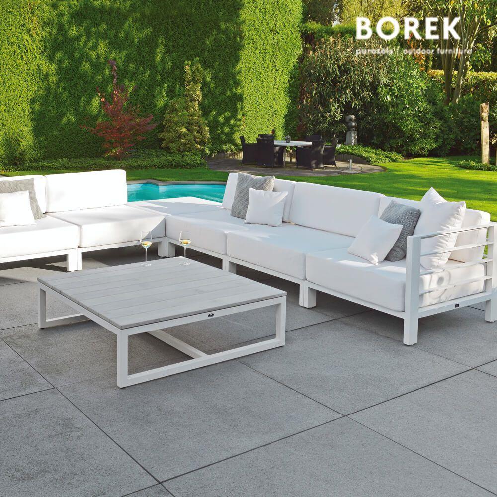 Wetterfest Outdoor Loungemöbel Aluminium