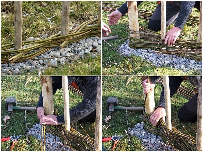 Windschutz Garten Selber Bauen