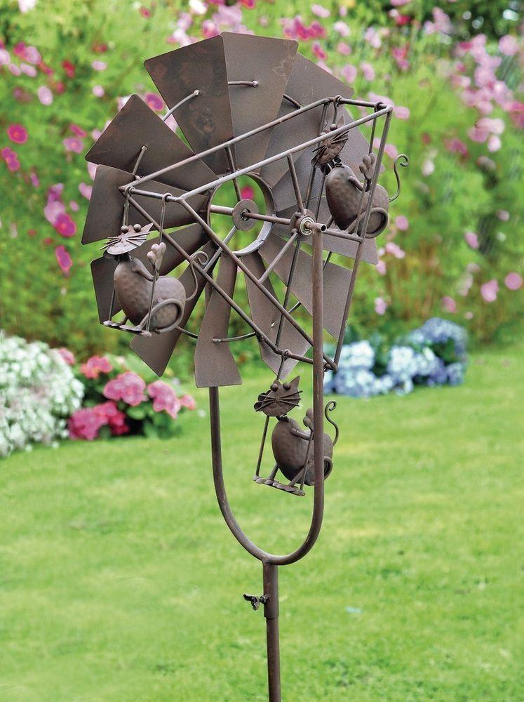 Windspiele Metall Garten