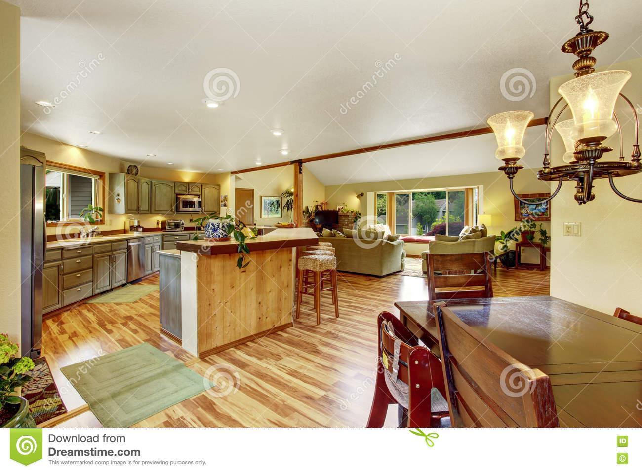 Wohn Esszimmer Küche Grundriss