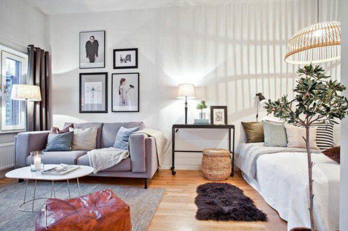 Wohn Schlafzimmer 20m2