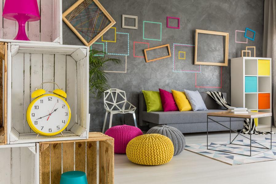 Wohnideen Modern Wohnzimmer Grau Weiß