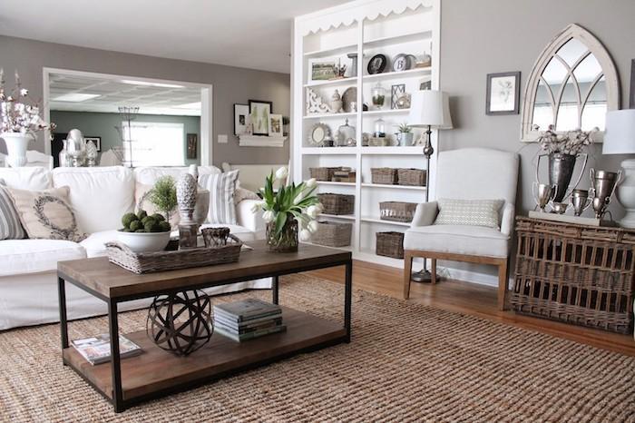Wohnideen Wohnzimmer Beige Und Grau Kombinieren Wohnen