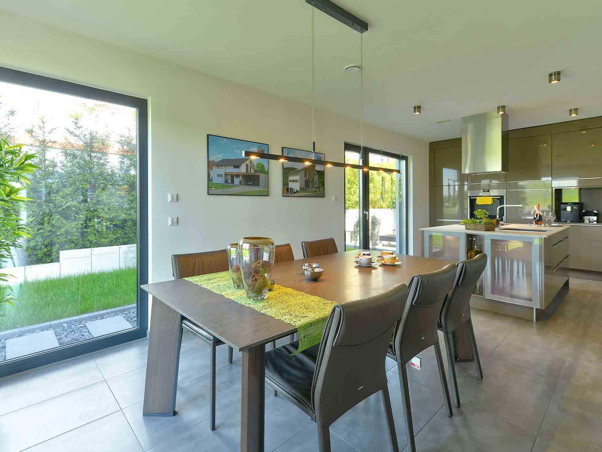 Wohnküche Küche Und Wohnzimmer In Einem Kleinen Raum