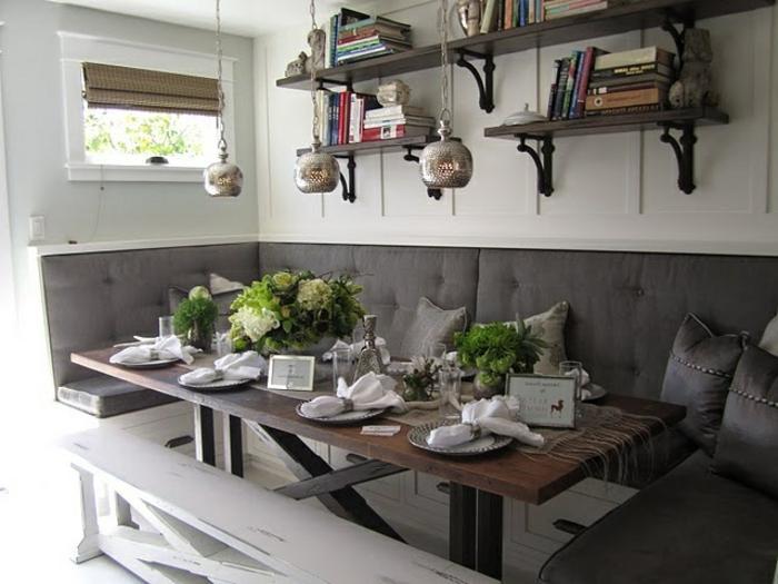 Wohnküche Ideen Landhaus