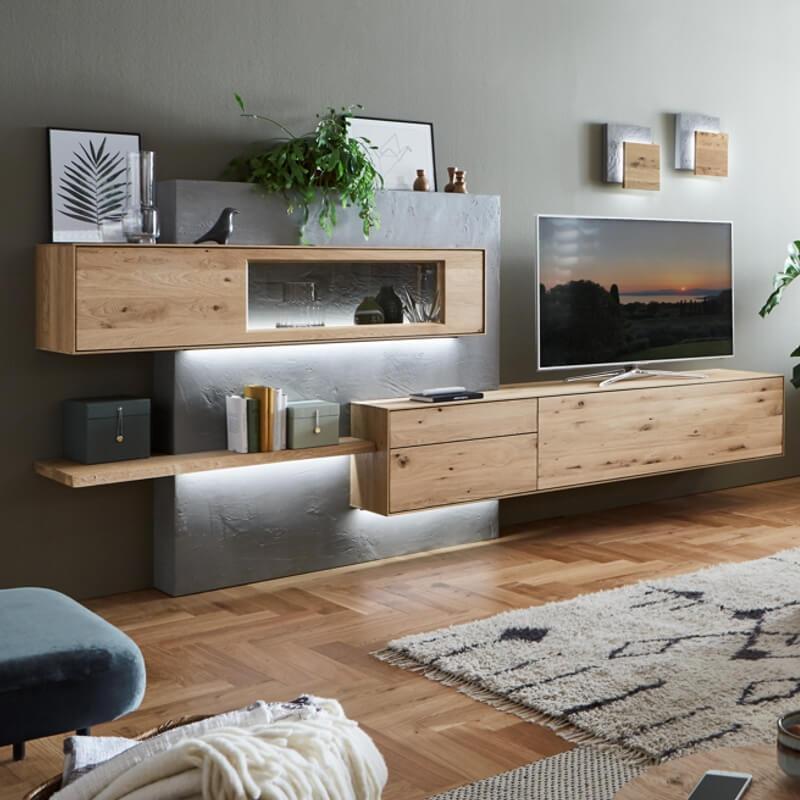 Wohnwand Aus Holz