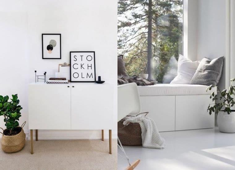 Wohnwand Ikea Besta Hacks