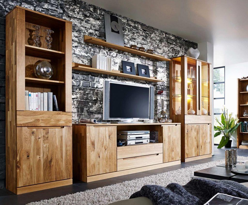 Wohnwand Landhausstil Modern