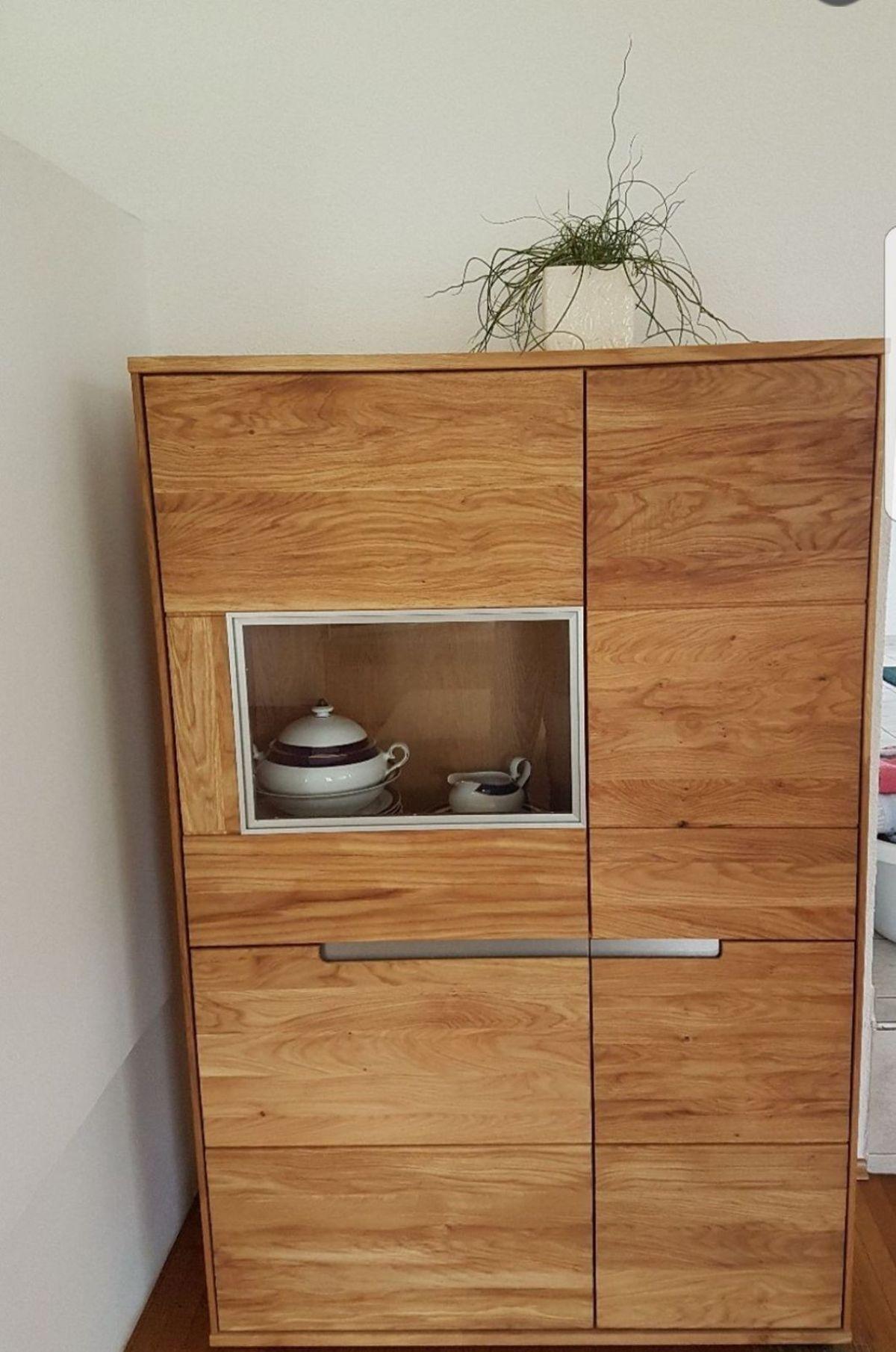 Wohnwand Massivholz Gebraucht