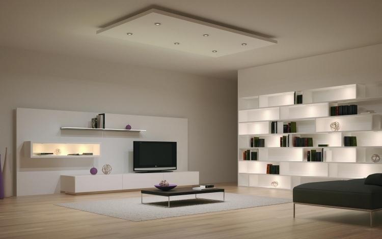 Wohnwand Modern Design