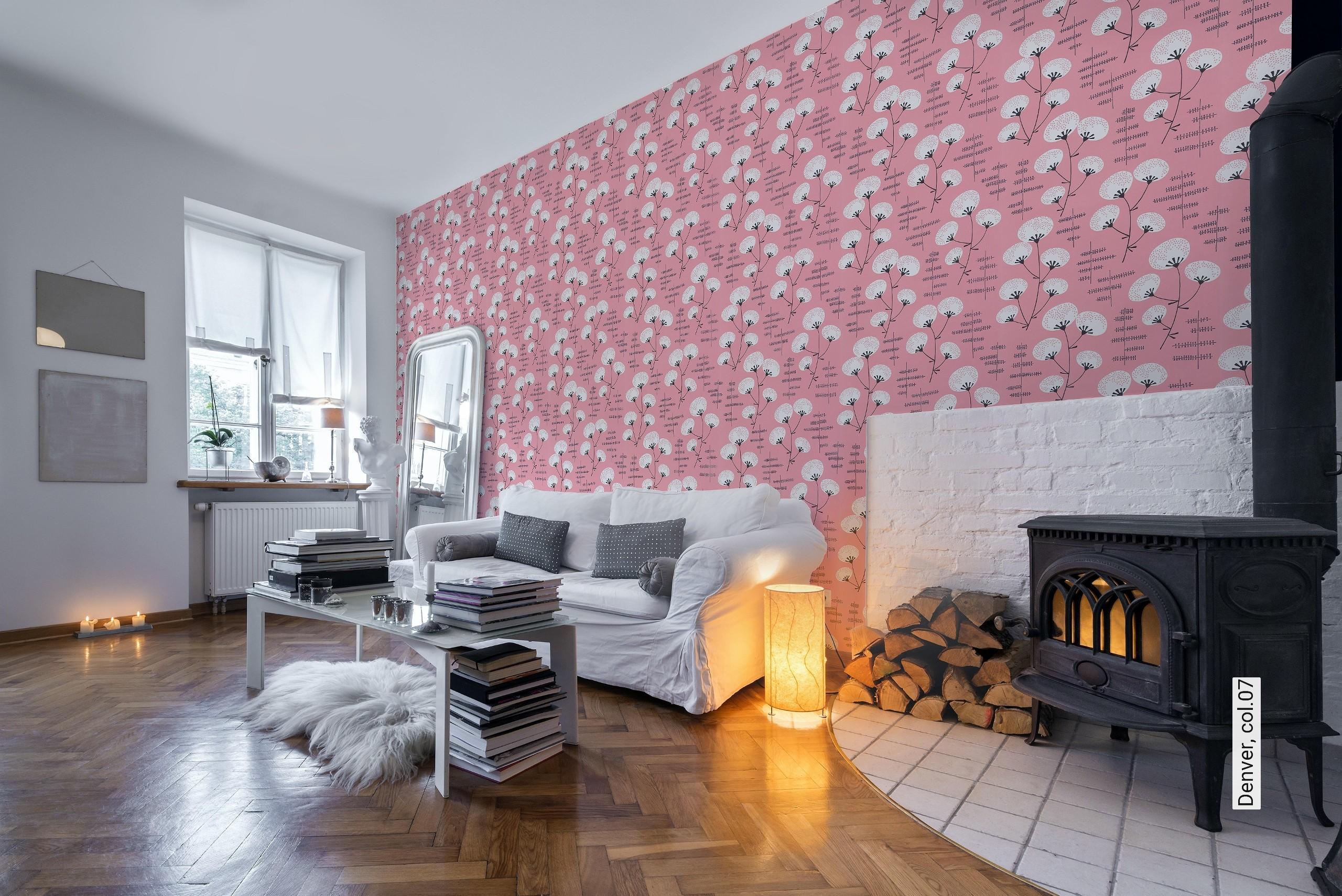 Wohnzimmer Anthrazit Rosa