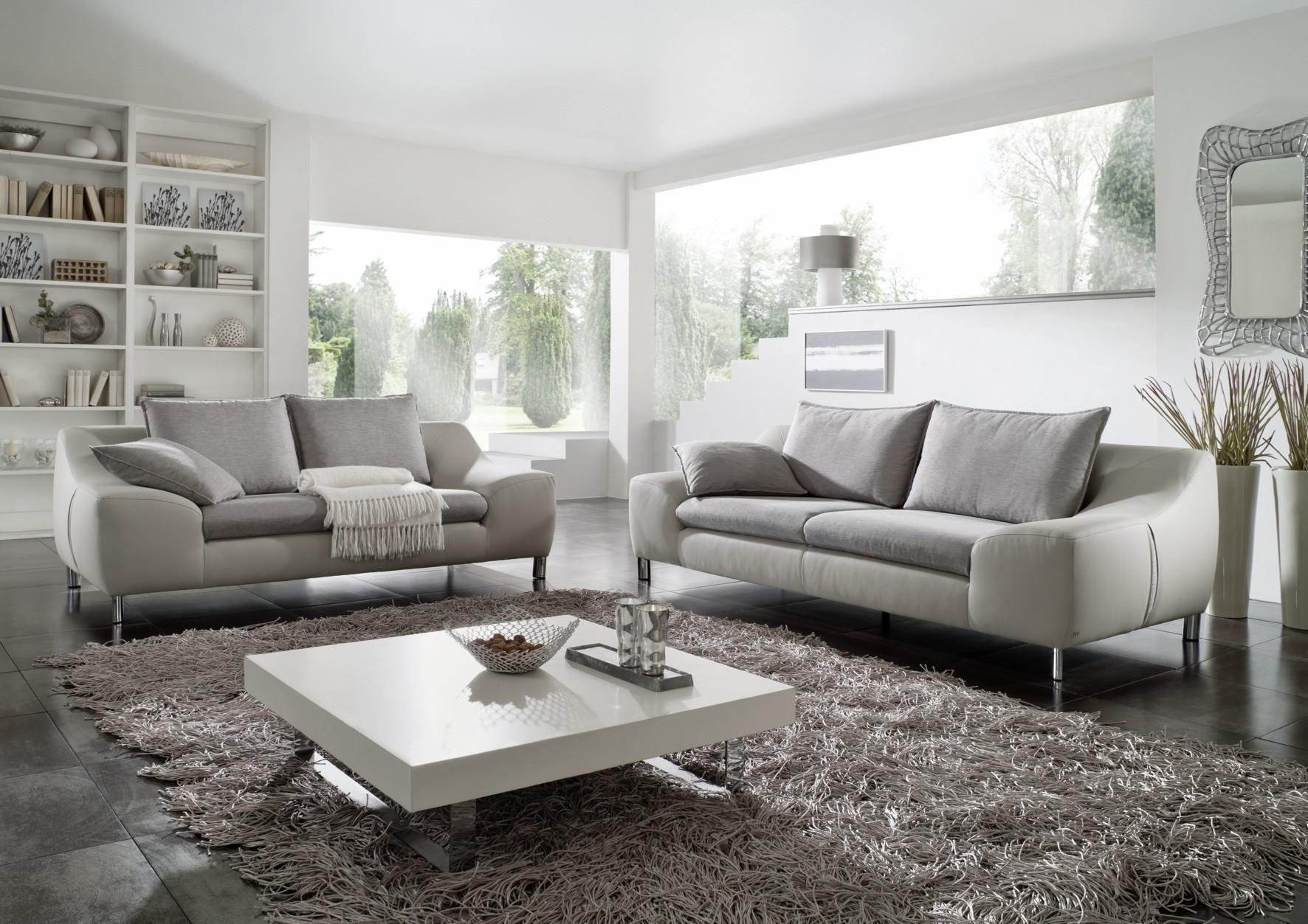 Wohnzimmer Beige Braun Weiß