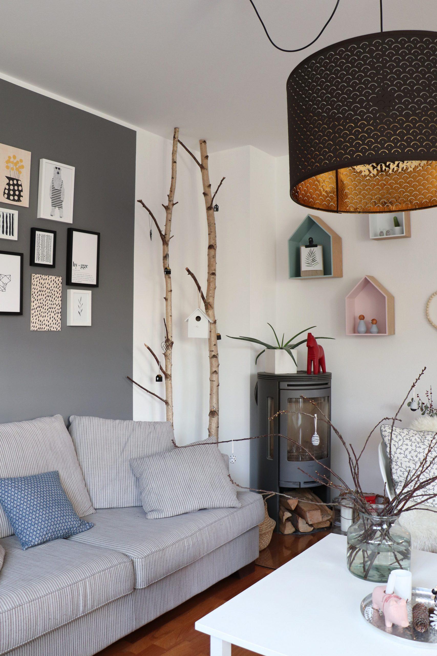 Wohnzimmer Bilderwand Gestalten