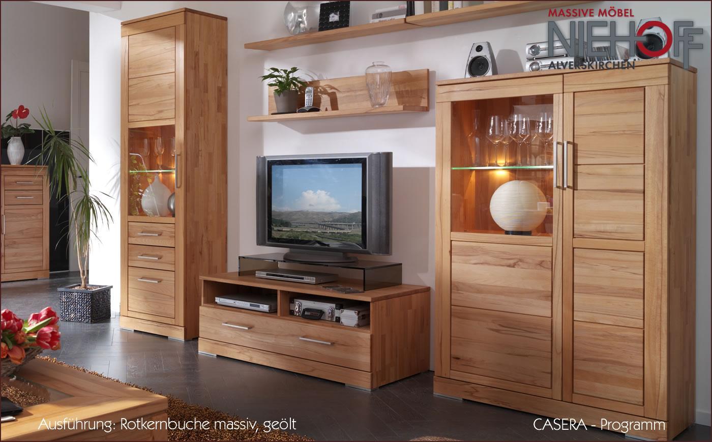 Wohnzimmer Buche Möbel