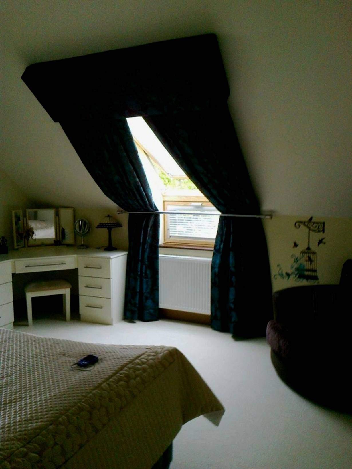 Wohnzimmer Dachschräge Landhaus