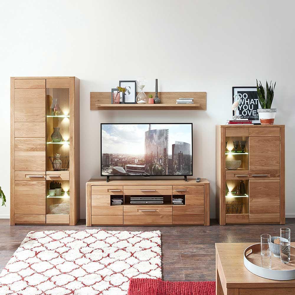 Wohnzimmer Echtholz Modern