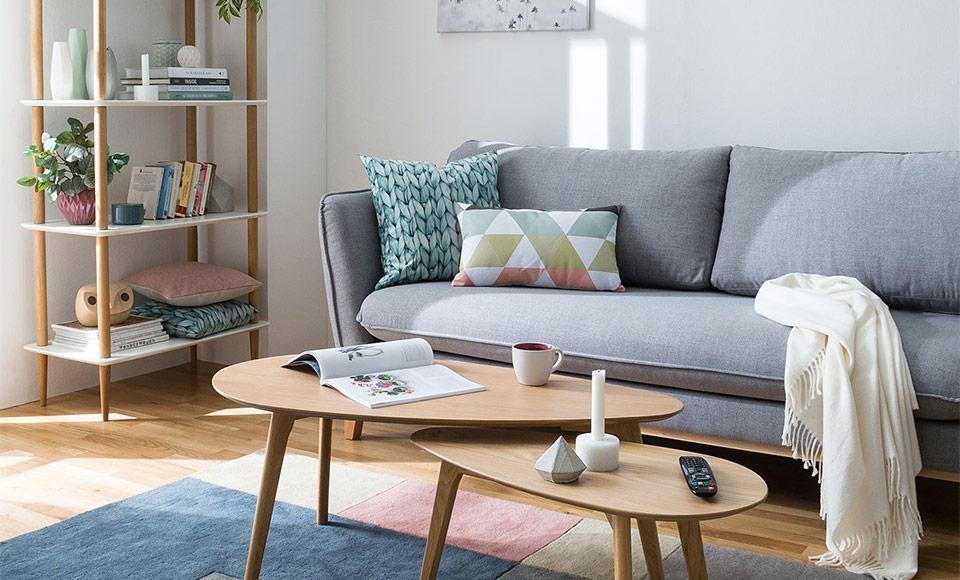 Wohnzimmer Einrichten Rotes Sofa