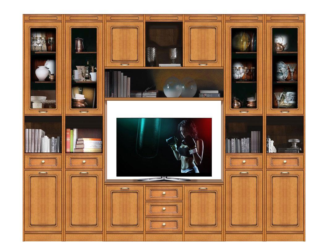 Wohnzimmer Einrichtung Holz Modern