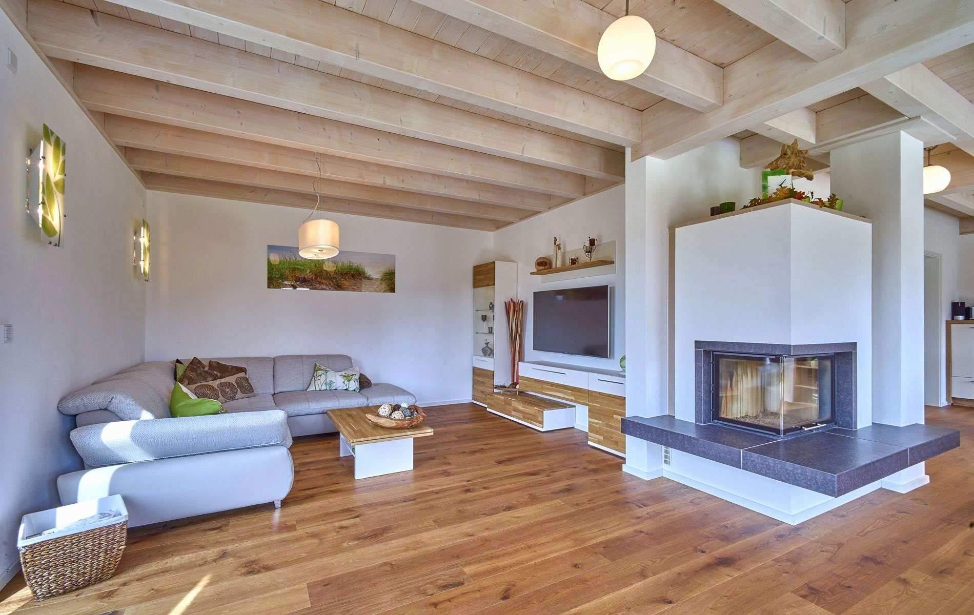 Wohnzimmer Einrichtung Modern Rustikal