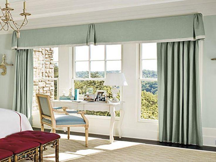 Wohnzimmer Fenster Gardinen Ideen