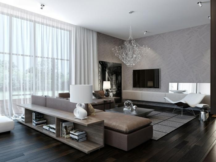 Wohnzimmer Gemütlich Modern