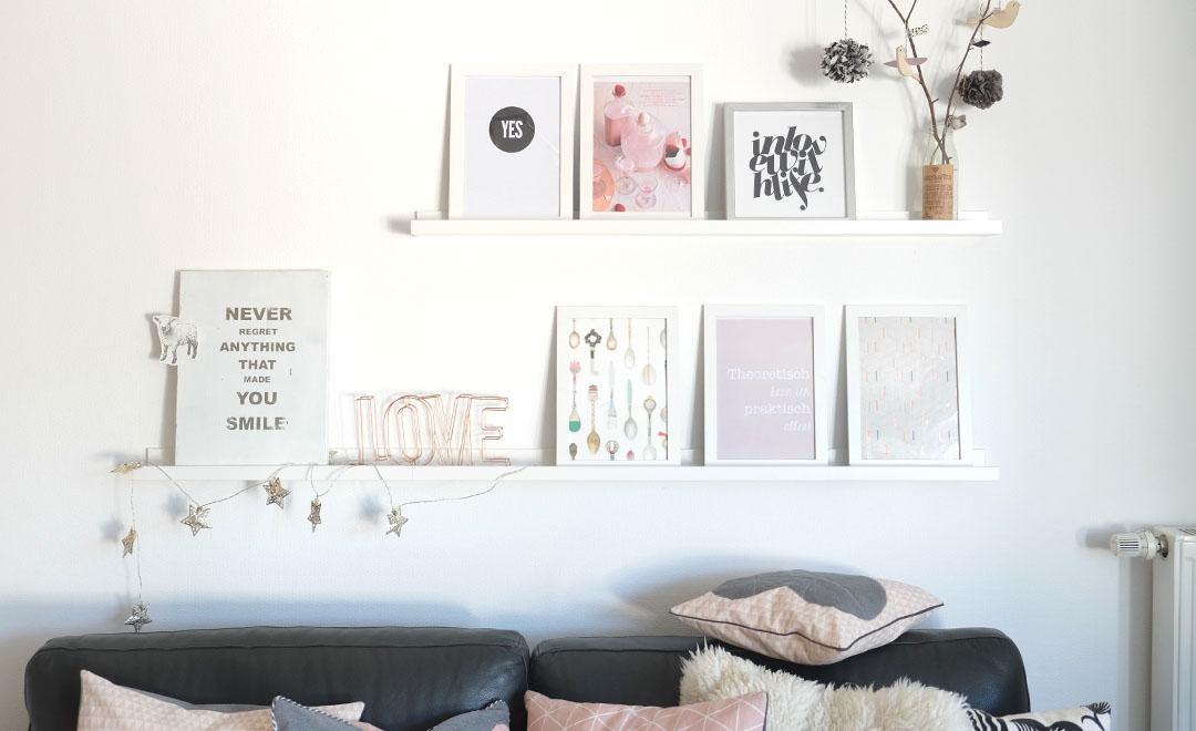 Wohnzimmer Grau Weiß Grün