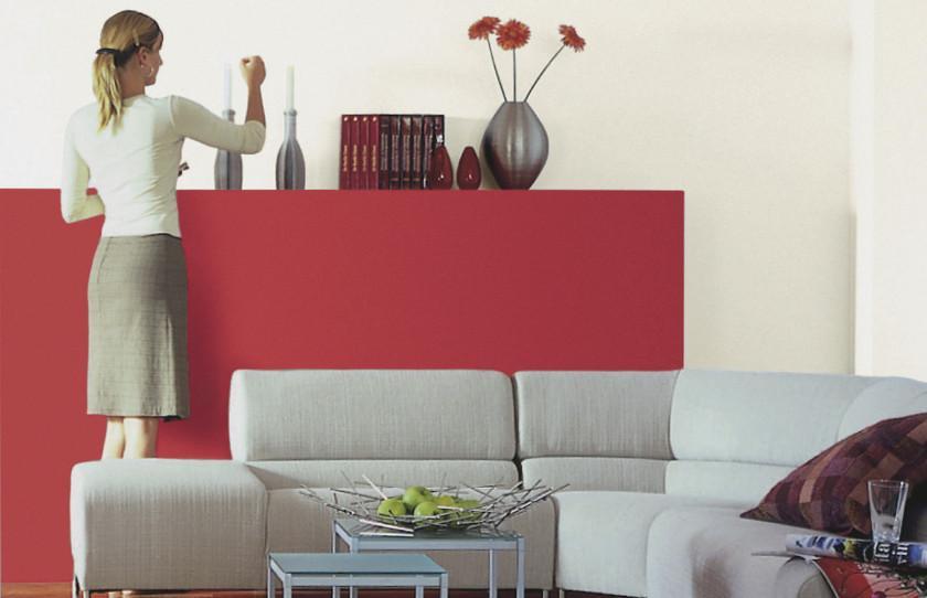 Wohnzimmer Grau Weiß Rot