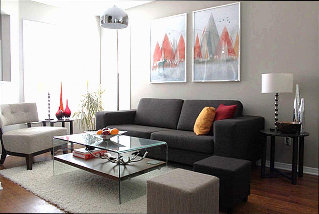 Wohnzimmer Graue Couch Wandfarbe