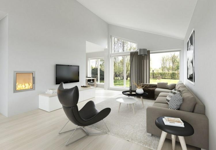 Wohnzimmer Ideen Beige Grau