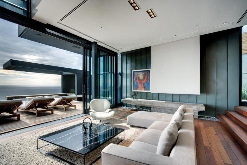 Wohnzimmer Ideen Holz Modern